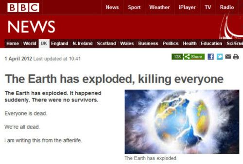 BBC, YOU SO CRASY