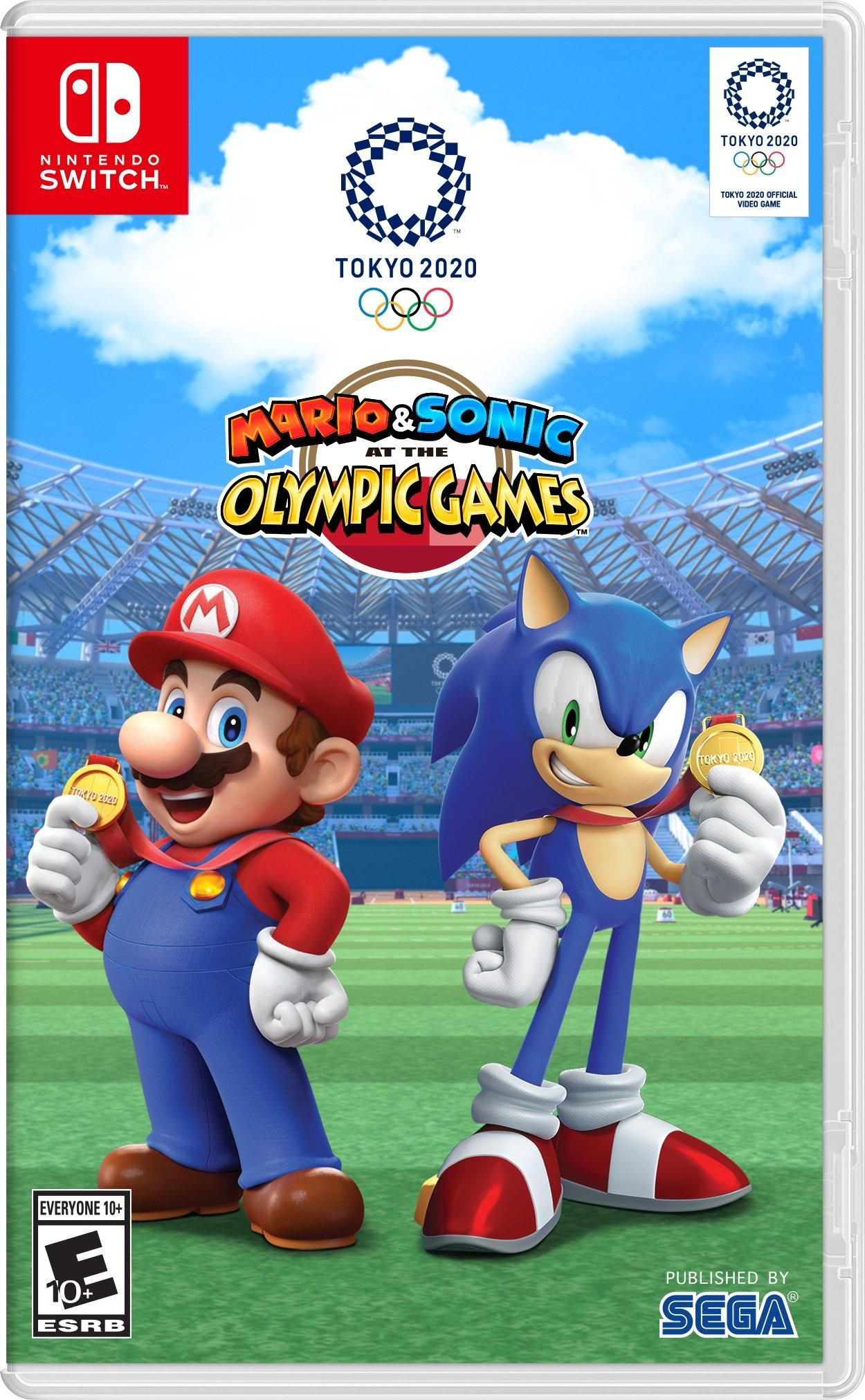 Mario and Sonic at the Olympic Games Tokyo 2020 Nintendo