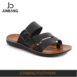 2b34e2cc0da6a Source Factory sale special design black Iraq style handmade PU slippers men  on m.alibaba.com