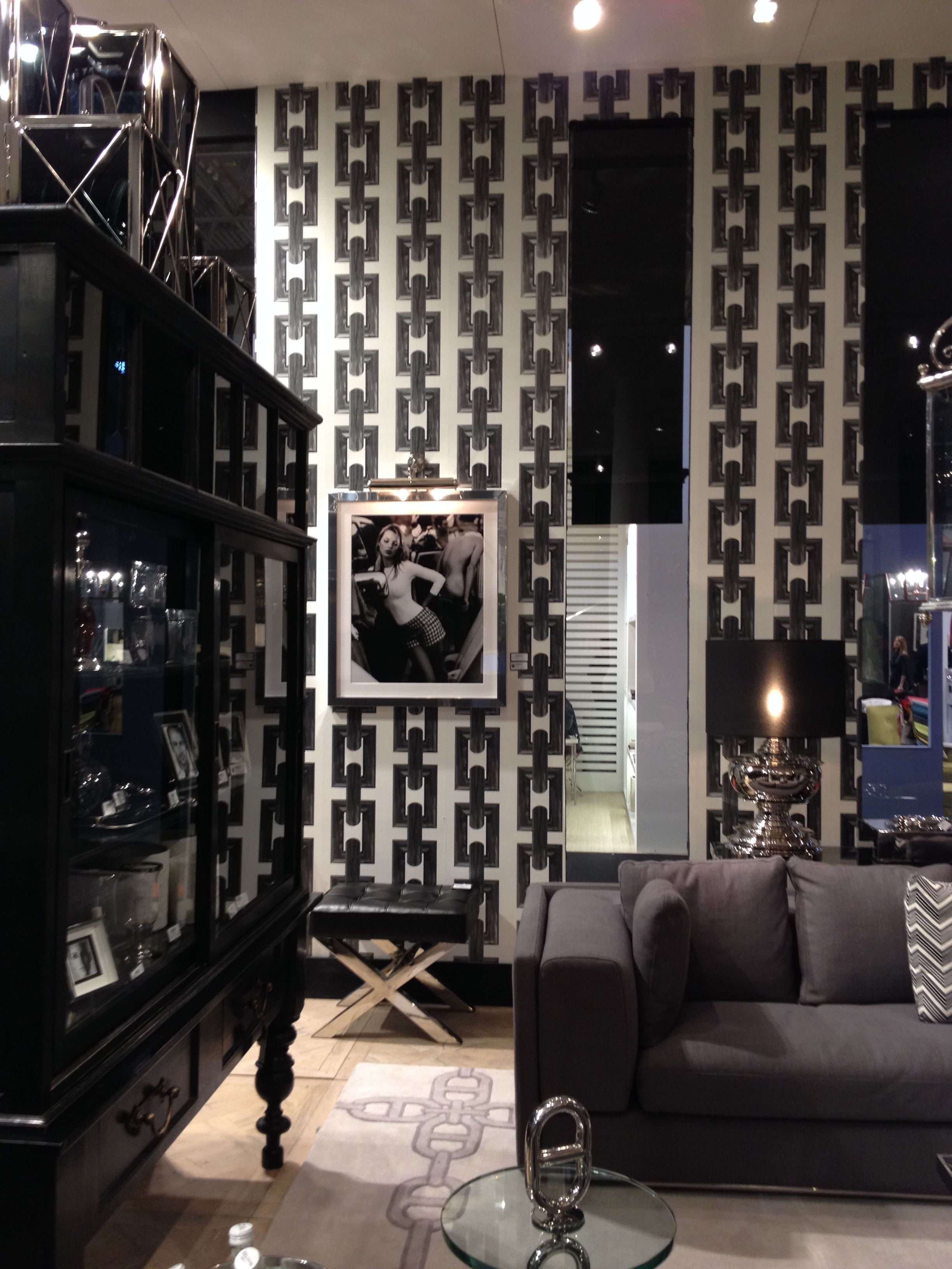 Eichholtz at maison objet paris with wallpaper diamonds are forever bn wallcoverings