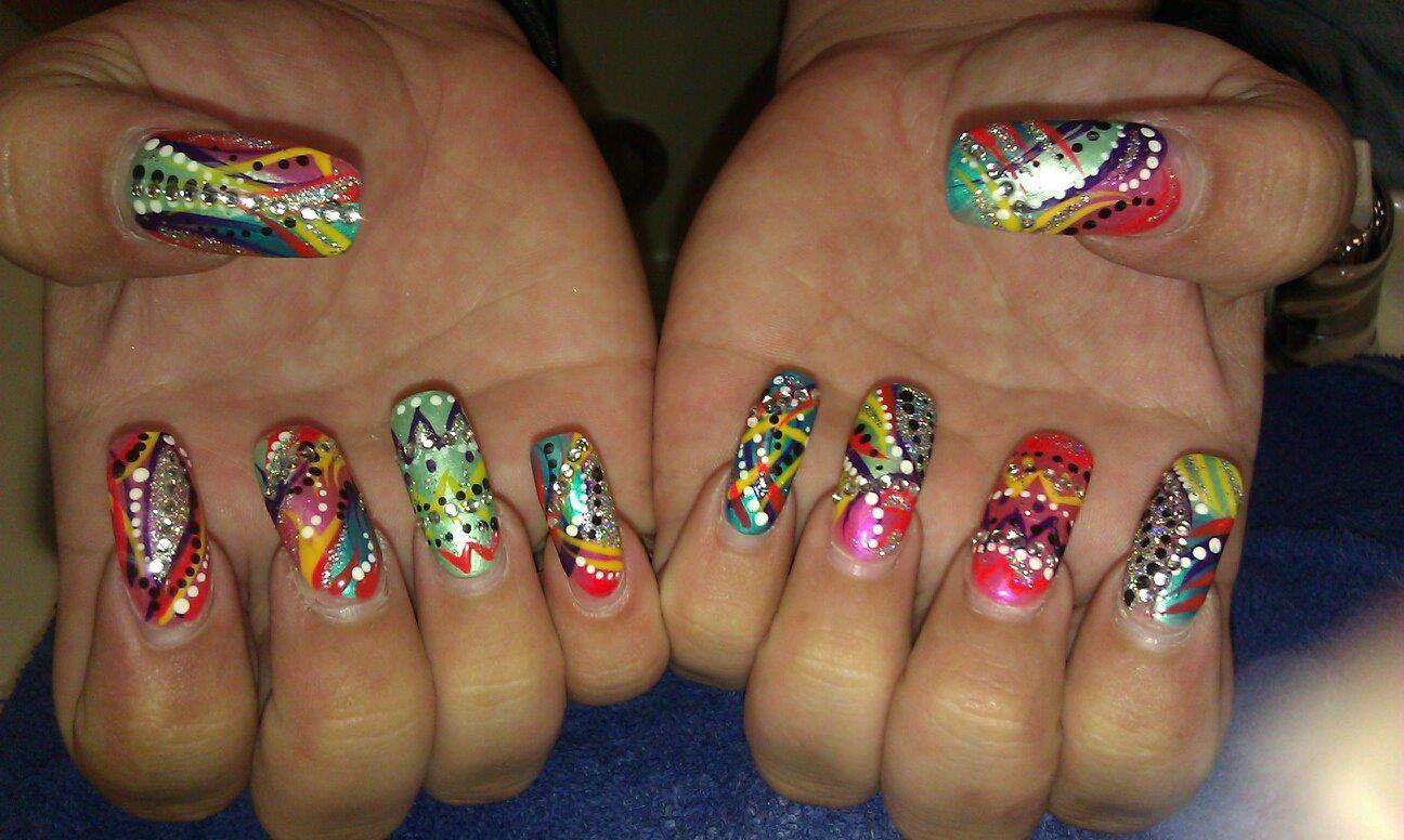 Custom Nail Design ;; Fabulous Nail Designs/Art | Crazy Nail Art ...