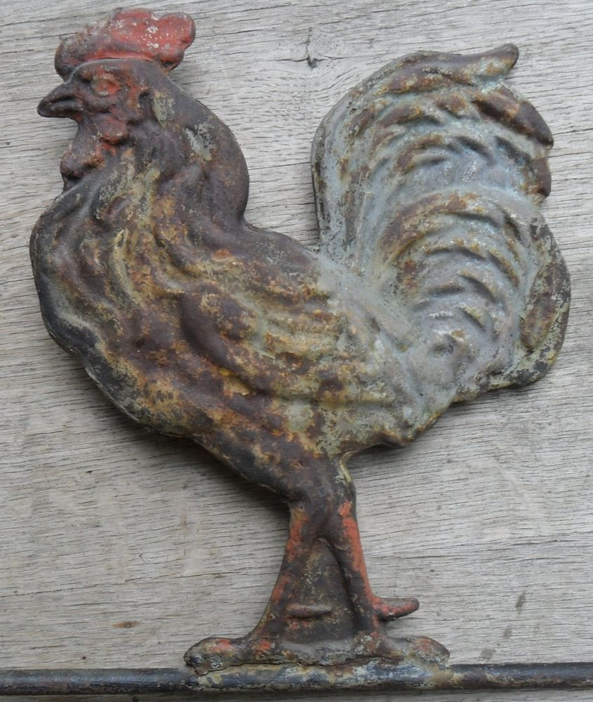 Rooster Weathervane Rooster American Antiques Antiques