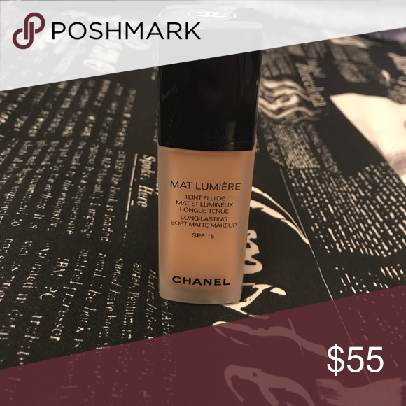 Long Last Soft Matte Makeup SPF 15 Chanel makeup
