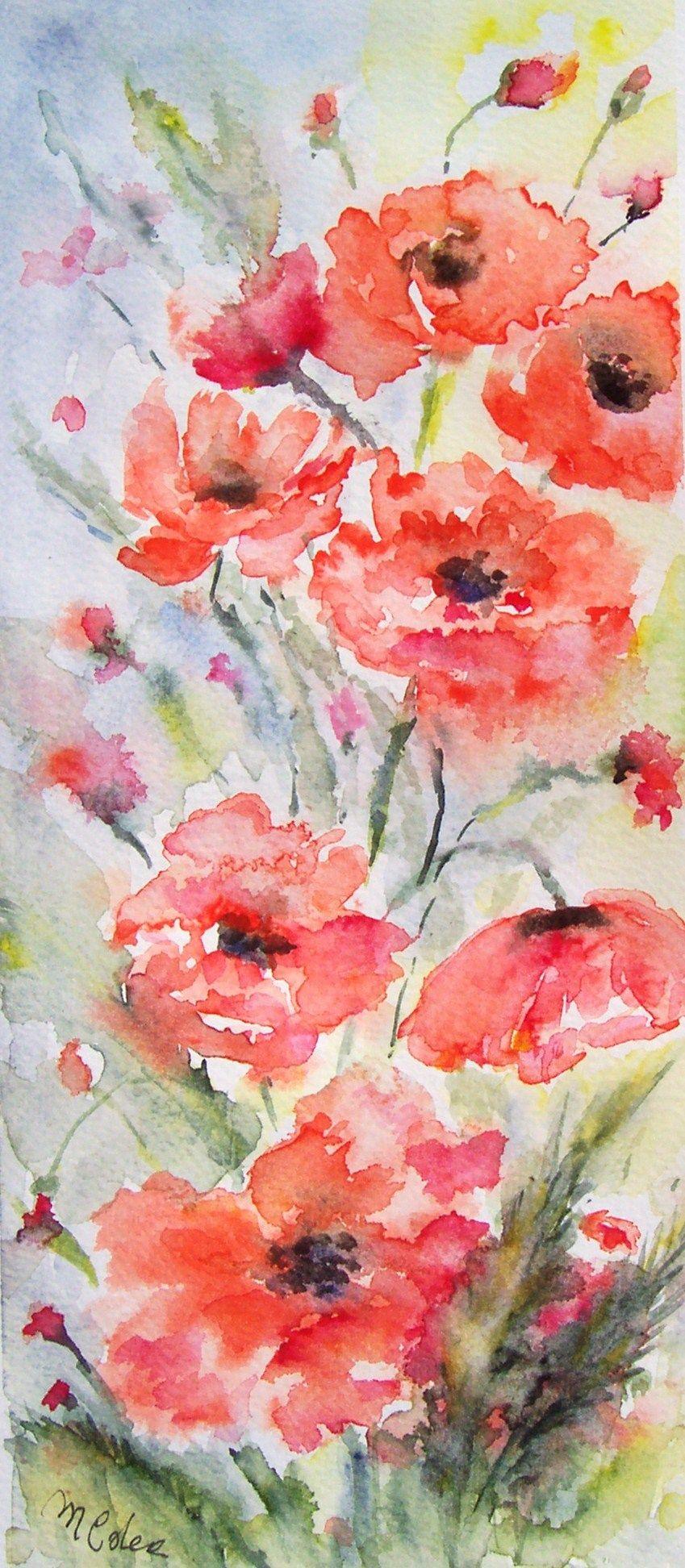 35x15. acquerello by M.Cristina DeAmicis