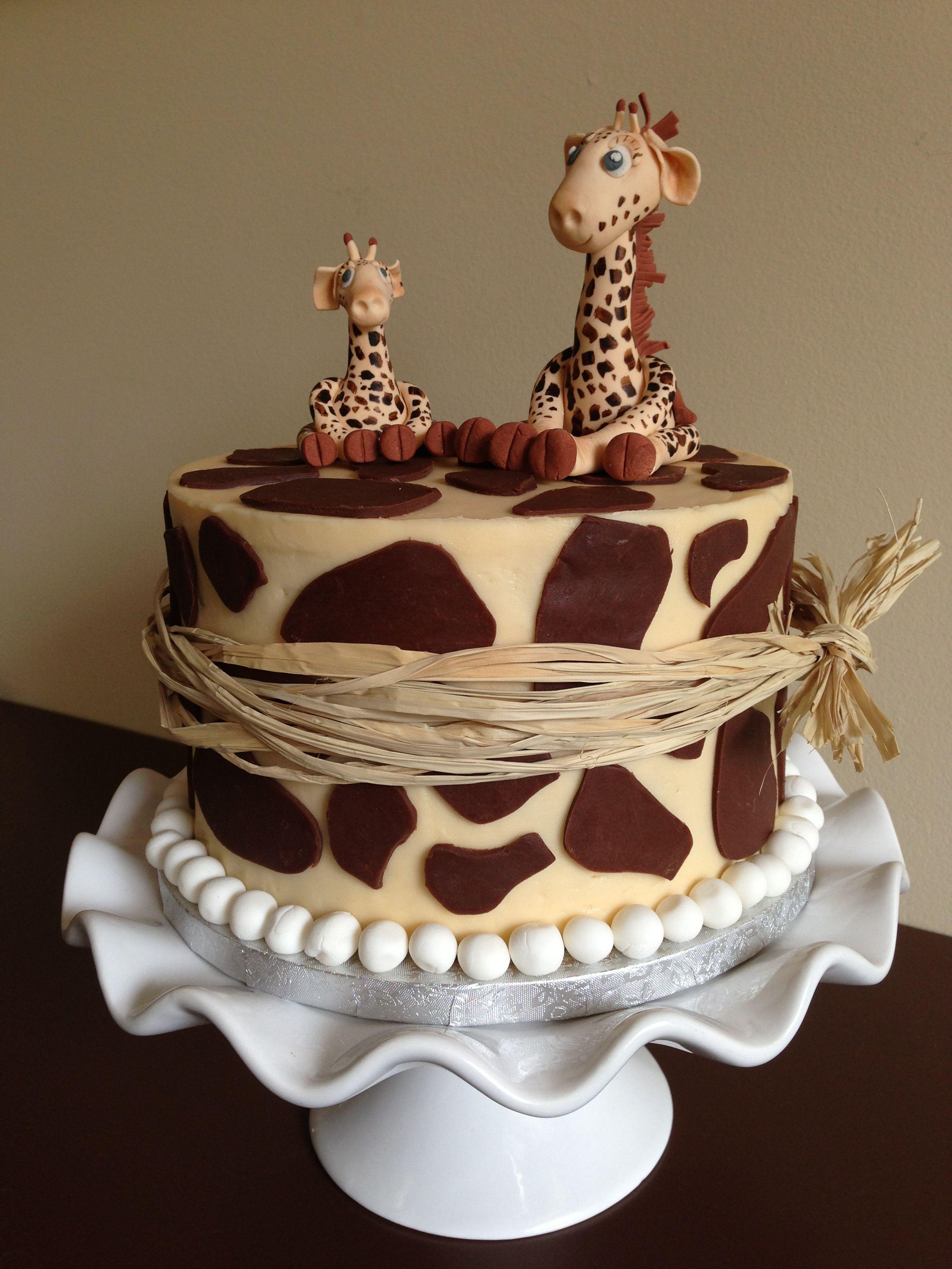 Giraffe cake Giraffe cakes, Cake, Cupcake cakes