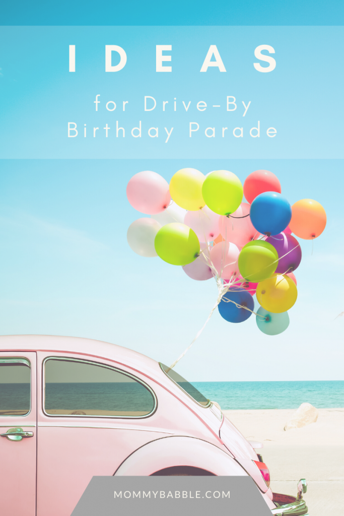 Ideas for DriveBy Birthday Parade. Drive By Birthday