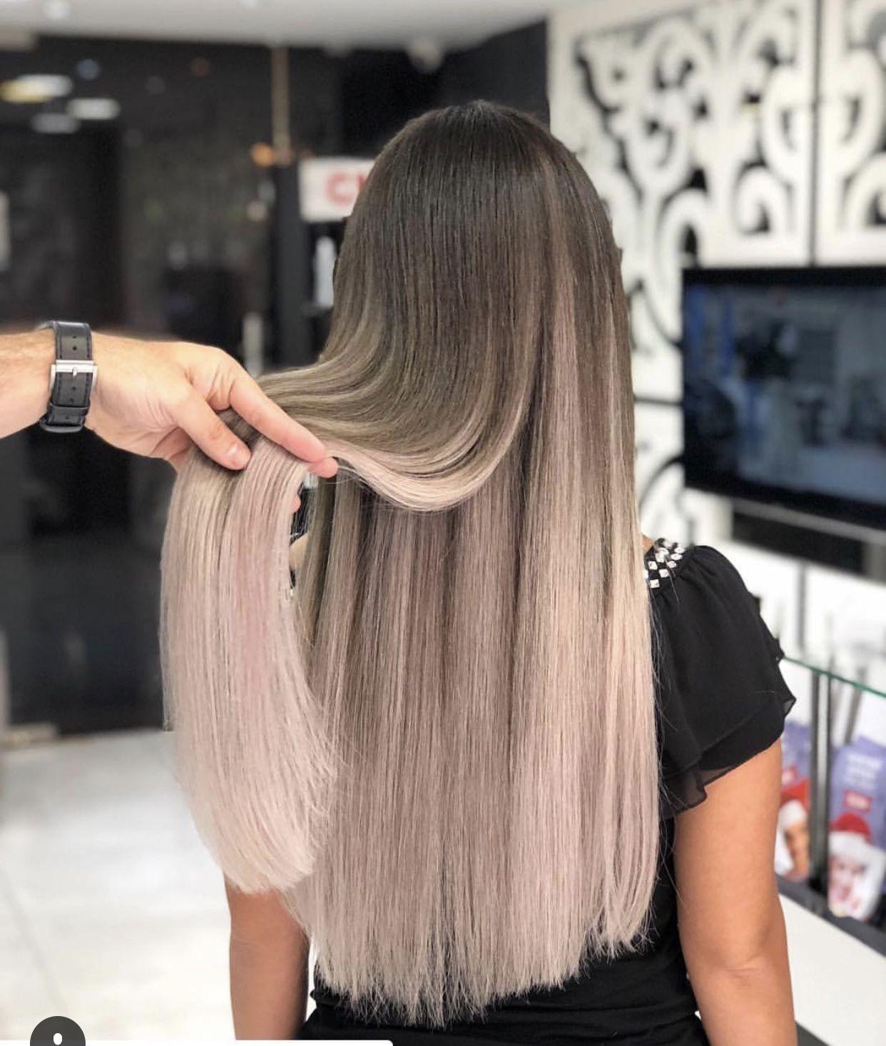 20 long hair summer 2018 #summer   routine.   Dunkelblonde