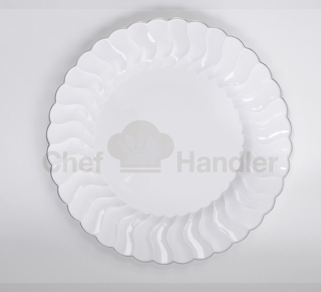 Check out our Elite Elegant Plastic Plates at Chef Handler. We have ...