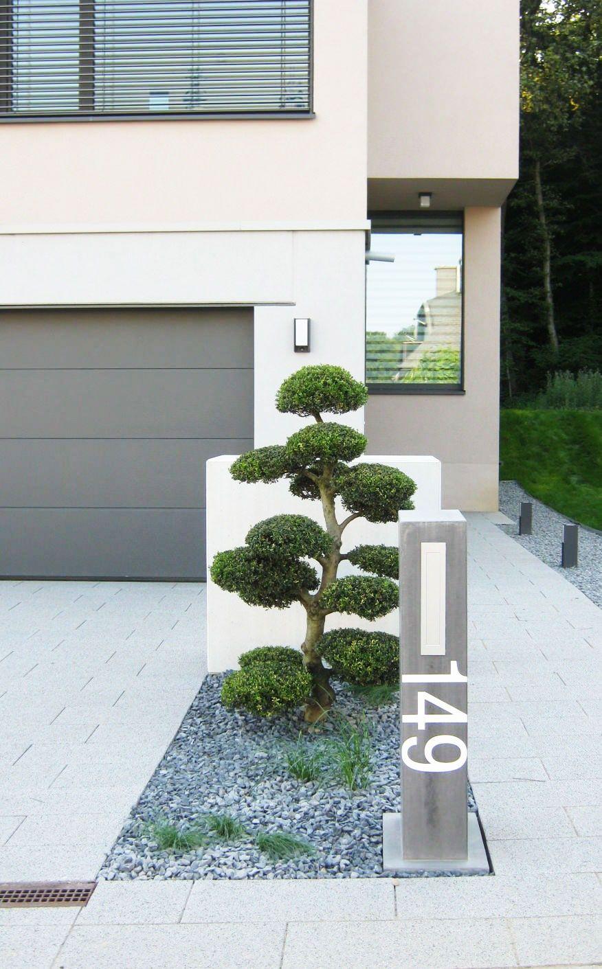 Amenagement entr e bonsa jardin et for t luxembourg jardin cabane pinterest - Amenagement paysager devant maison ...