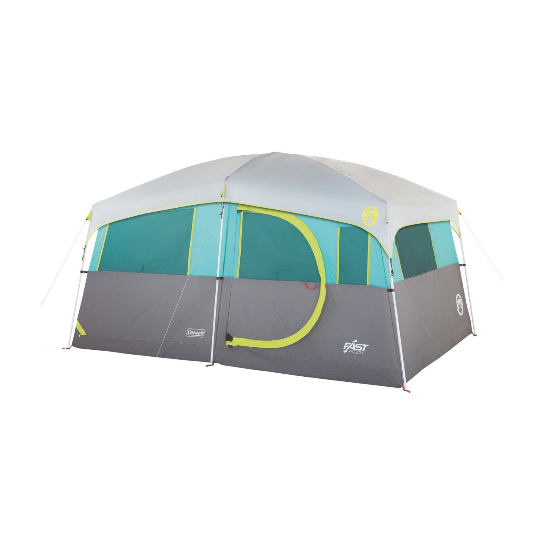 Coleman Tenaya Lake Lighted 8 Person Cabin Tent Cabin Tent Best