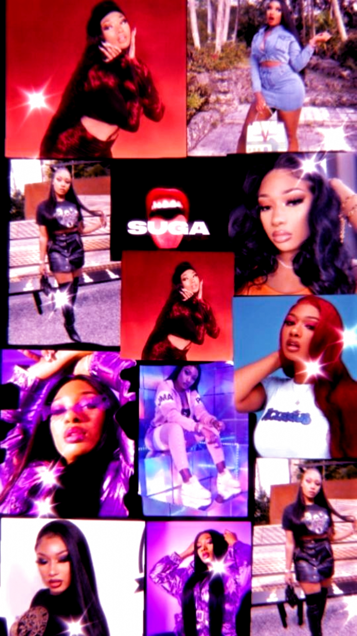 I Made This Megan Thee Stallion Wallpaper If You Would Like Me To Make More Of These Please Co In 2020 Bad Girl Wallpaper Bad Girl Aesthetic Cute Tumblr Wallpaper