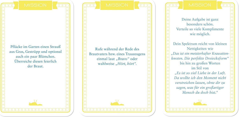 Chaoskarten Hochzeitsspiel Das Original 51 Aufgaben Fur Eine Lustige Hochzeit Amazon De Spielzeug Hochzeit Spiele Hochzeitsspiele Hochzeit