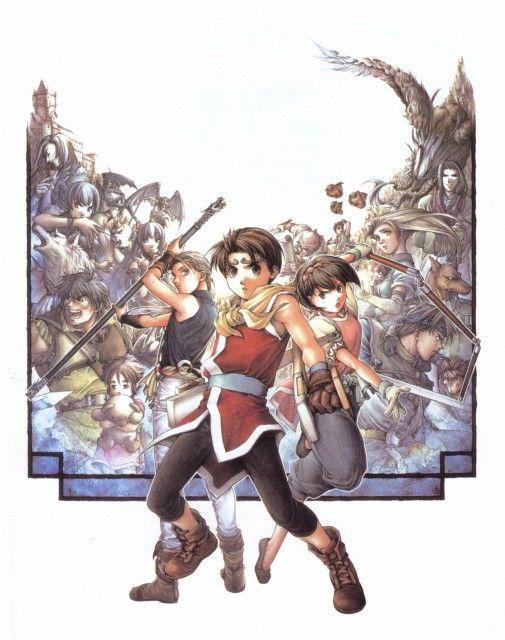 Suikoden Ii Suikoden Ii Cover Minitokyo Suikoden Cover Artwork Zelda Characters