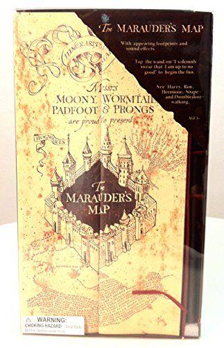 Electronic Marauder S Map W Moving Footprints Harry Potter Wallpaper Harry Potter Marauders Harry Potter Marauders Map