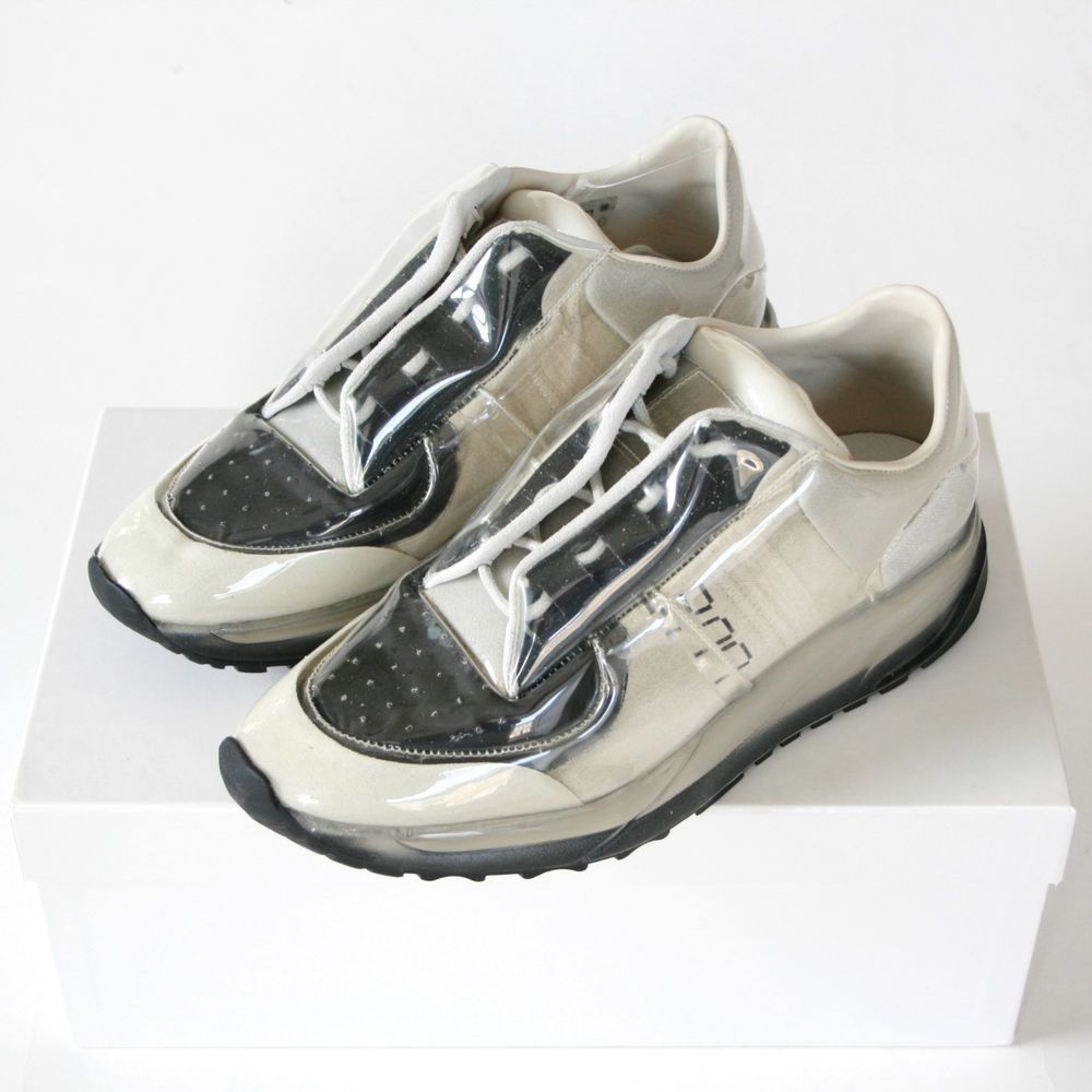 75cf6567afb6 MAISON MARTIN MARGIELA low top Future shoes clear transparent sneakers 40  NEW  MaisonMartinMargiela  FashionSneakers  transparent  clearsneakers   future ...