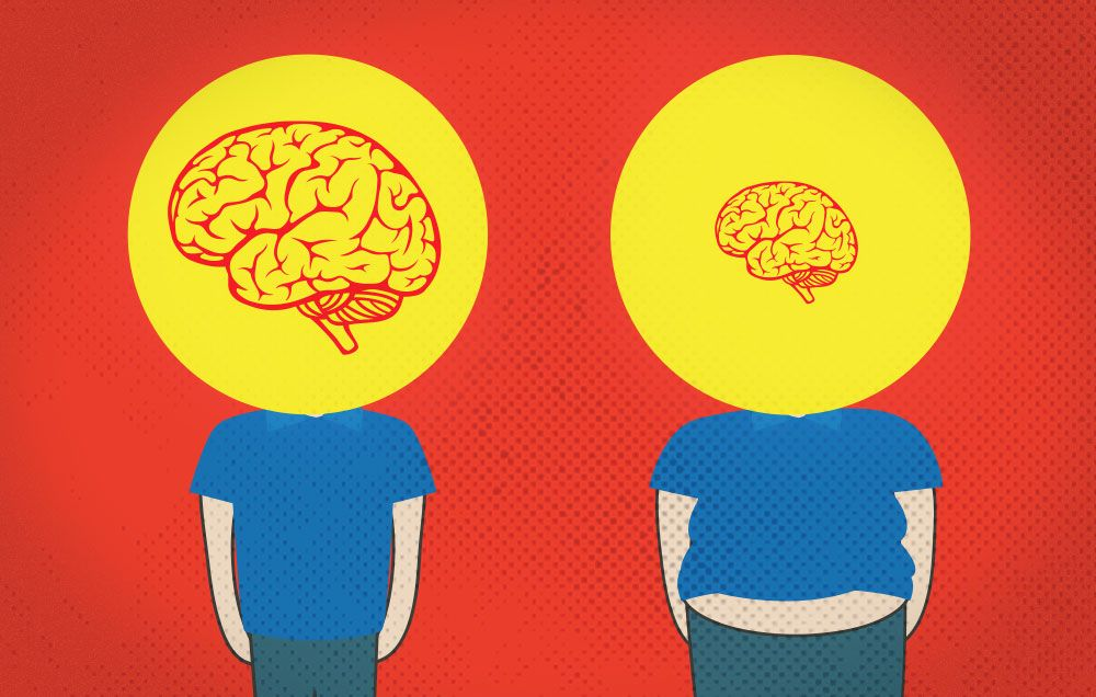 If your BMI is higher than THIS number, your brain may actually be shrinking at a faster rate. Here's how to stop it