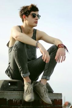 guys tank top outfit - Google Search