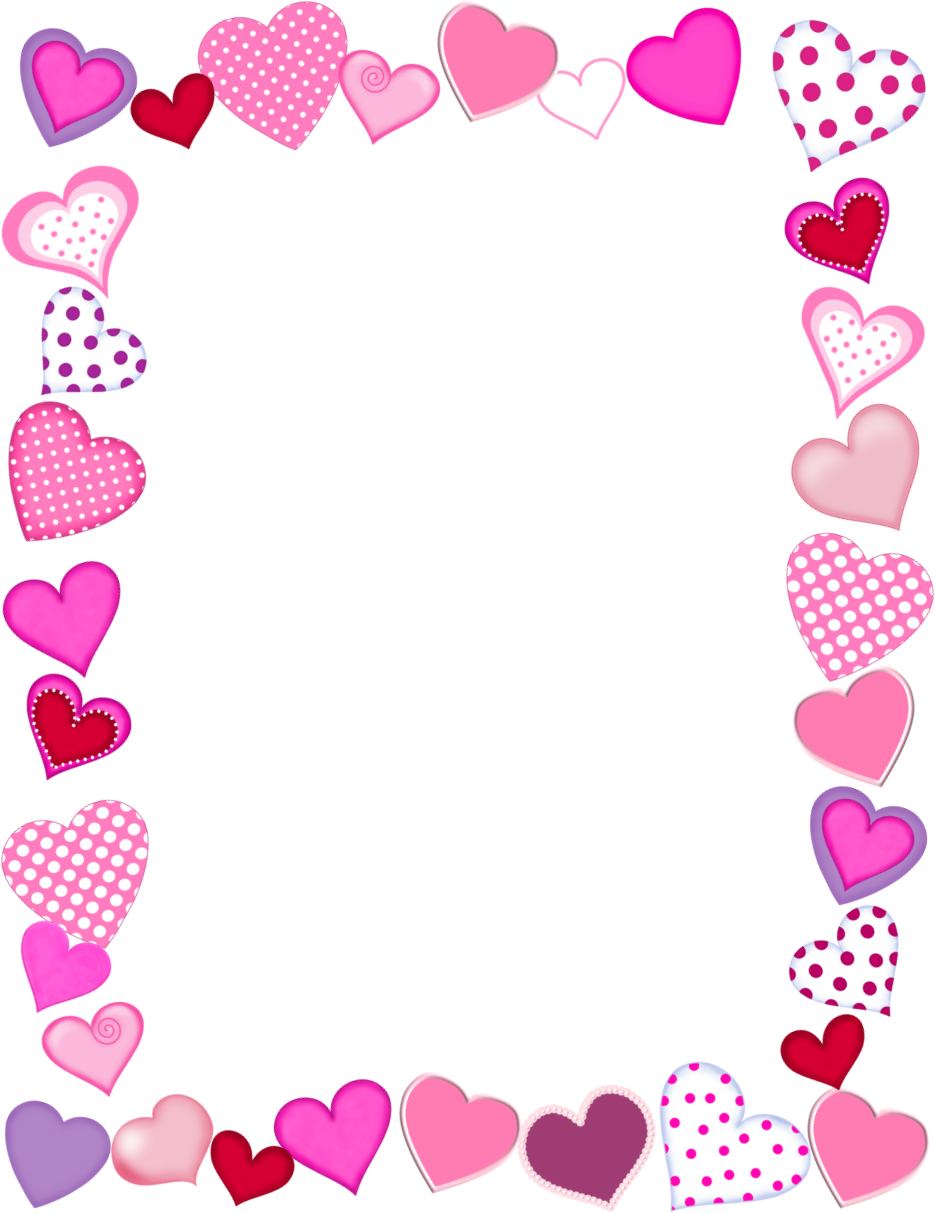 image about Valentine Borders Free Printable called Track down Heaps of Free of charge Clip Artwork Photographs for Valentines Working day