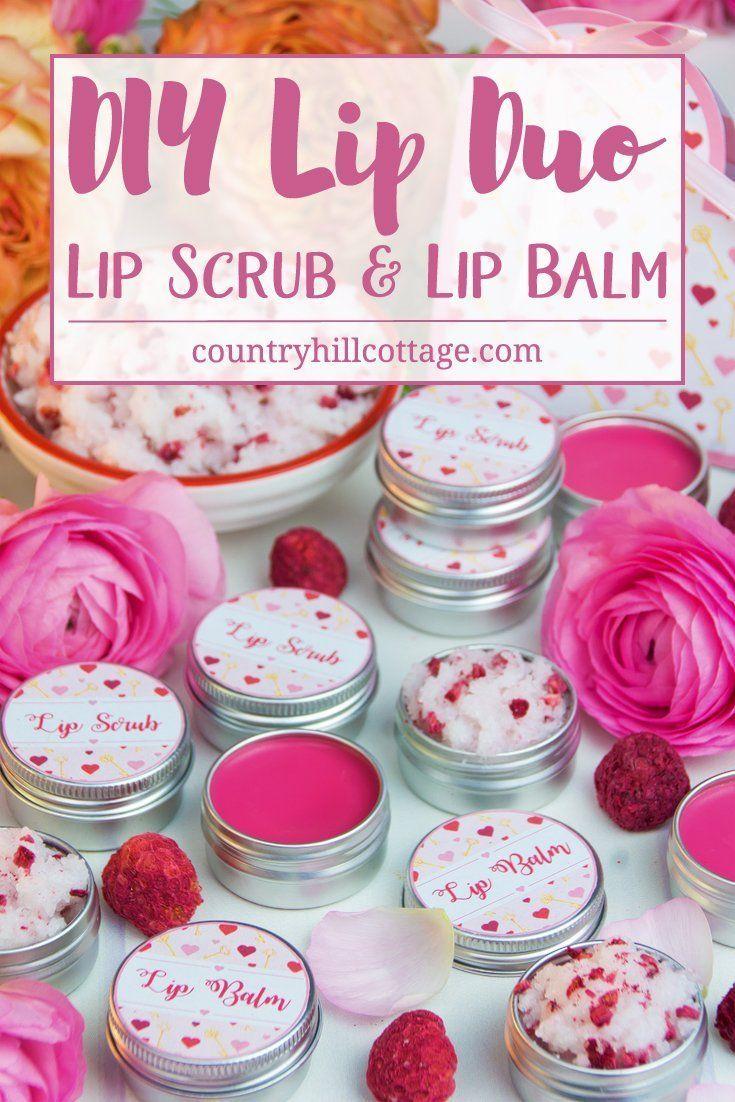 DIY Lip Duo: Lip Scrub and Lip Balm