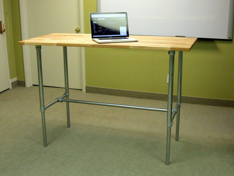 Adjustable Height Sitting And Standing Desk Diy Standing Desk Adjustable Height Desk Standing Desk Plans