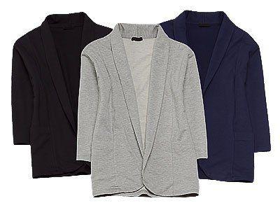 Zakiet Dresowa Narzutka Marynarka Nowa M L B253 6492167634 Oficjalne Archiwum Allegro Blazer Fashion Sweaters