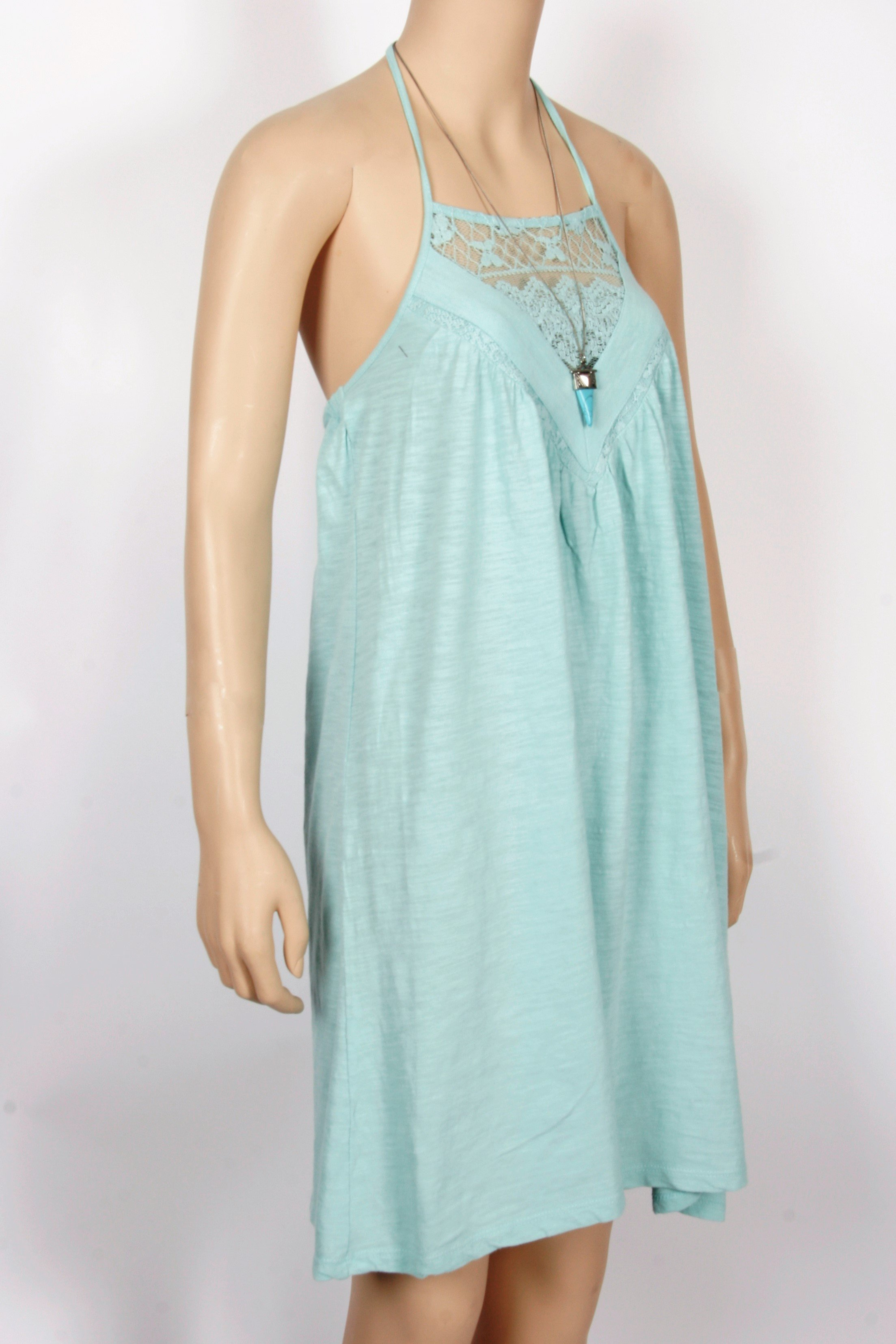 Roxy lace inset halter dresssize small in products pinterest