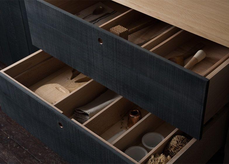 "Rustic Black Kitchen sebastian cox designs ""urban rustic"" kitchen for devol | urban"