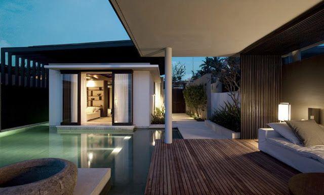 rumah minimalis  Rumah minimalis, Arsitek, Hotel mewah