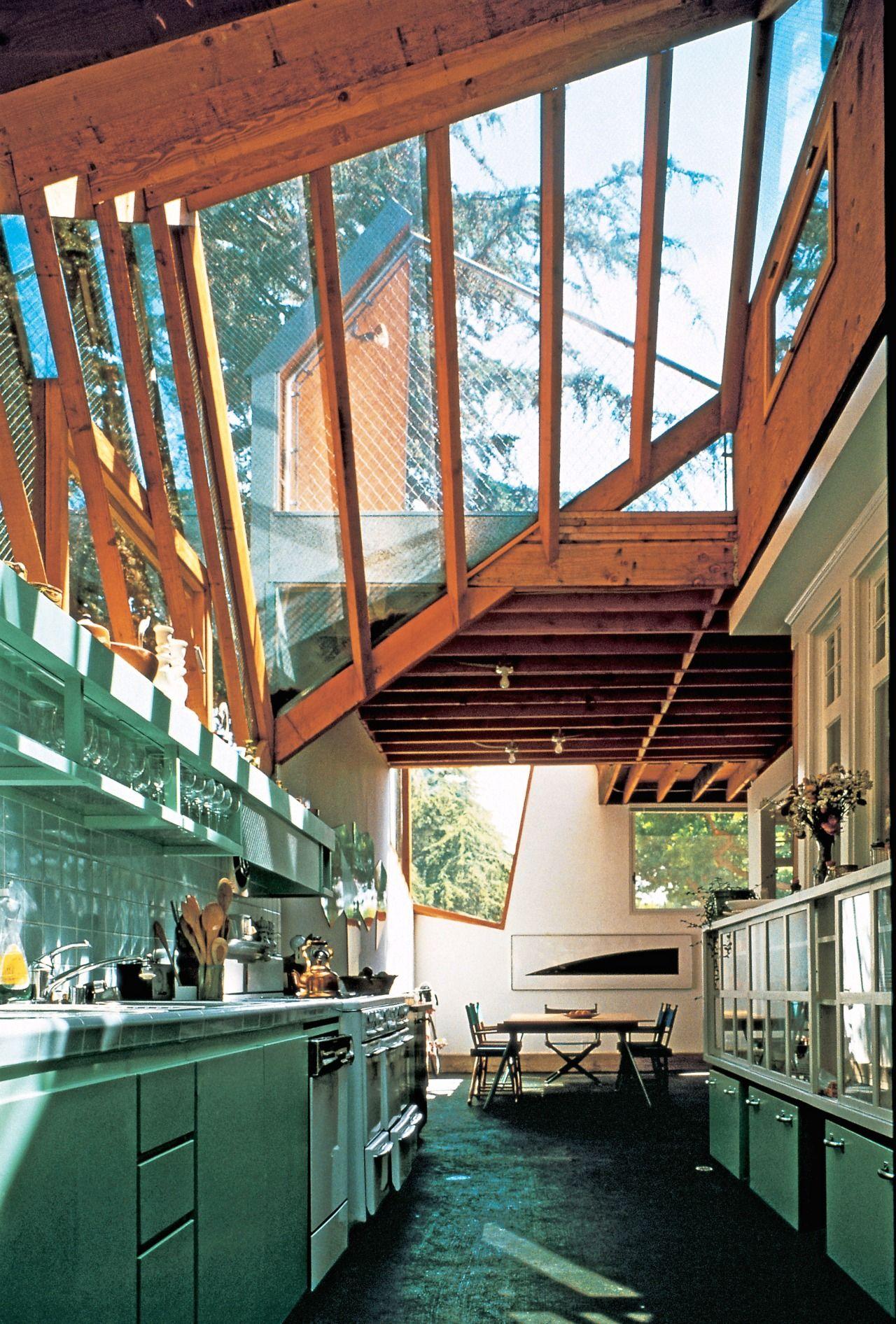 Gehry house santa monica 1978 kitchen - Santa monica interior design firms ...