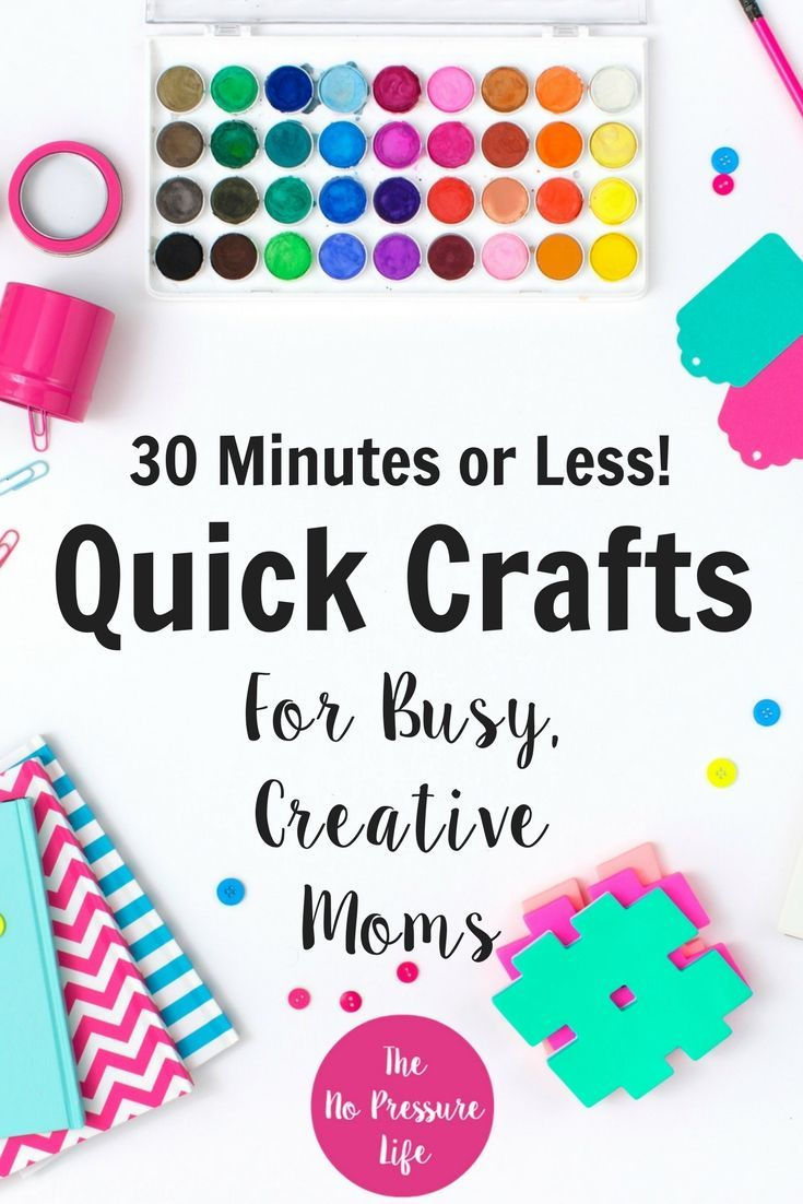 Are You A Busy Mom Who Loves Easy Crafts To Make For Your Home Here
