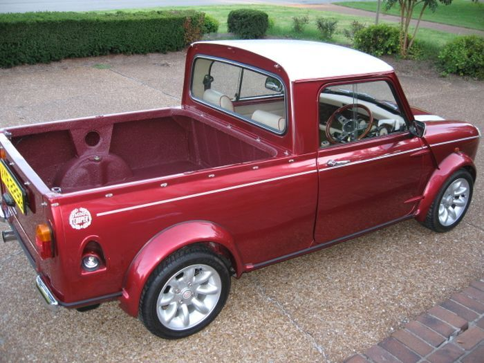 mini pick up mini pick pick ups pinterest trucks mini cooper s and the day. Black Bedroom Furniture Sets. Home Design Ideas