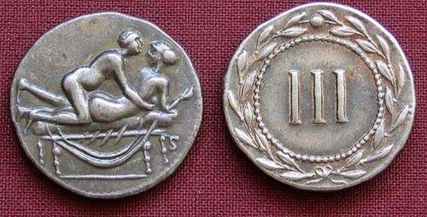 Arqueología E Historia Del Sexo Spintriae Las Monedas Romanas Del