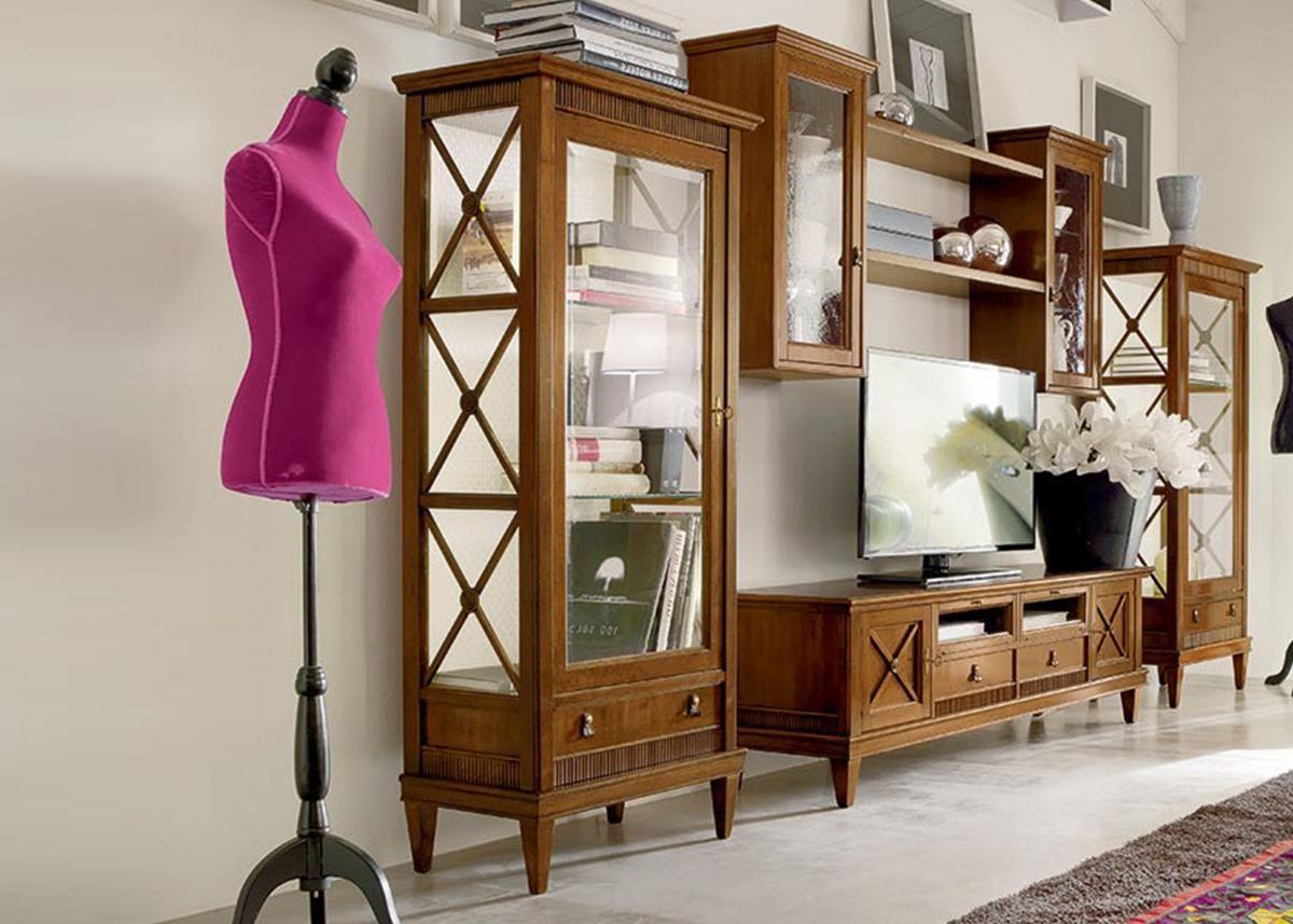 Tosato Mobili ~ Шкаф со стеклянными дверцами 16.69 Мебель от «tosato» Квартира