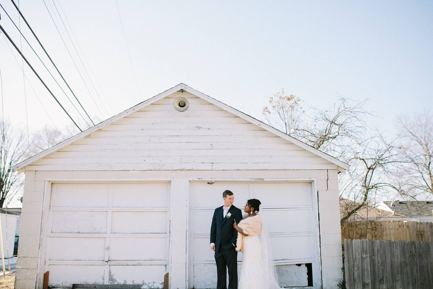 Wedding at The Brick in South Bend Photography, Couple