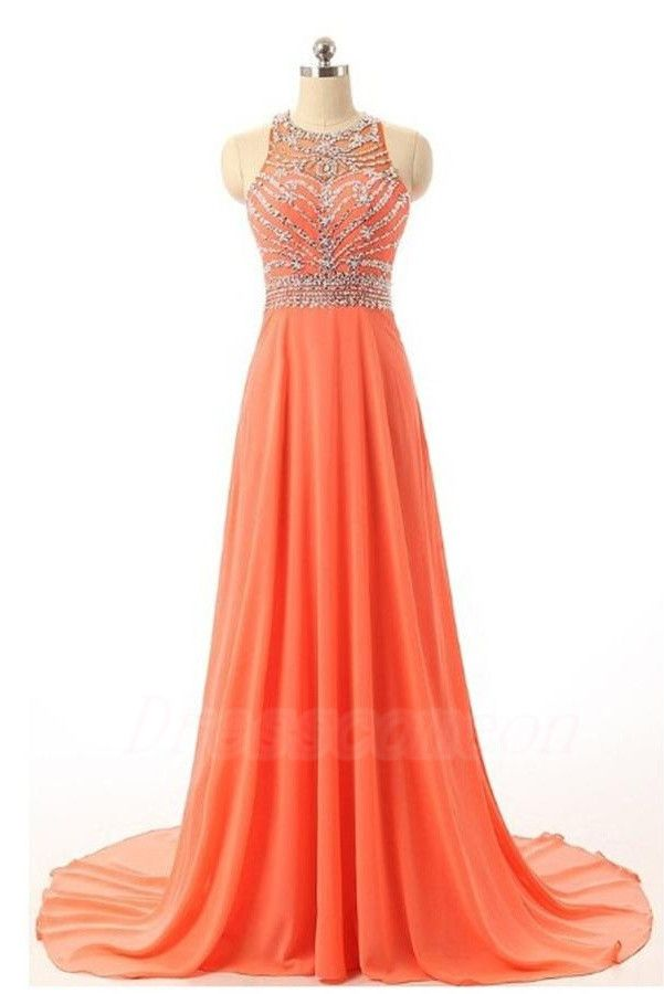 Beautiful Handmade Prom Dresses,Long Prom Dress,Orange Chiffon Prom Gowns,Beaded Party Prom Dresses http://www.luulla.com/product/590281/beautiful-handmade-prom-dresses-long-prom-dress-orange-chiffon-prom-gowns-beaded-party-prom-dresses
