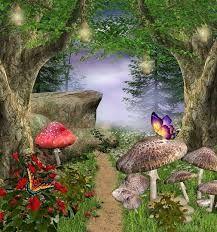картинки со сказочным лесом с грибами – Google Поиск в ...