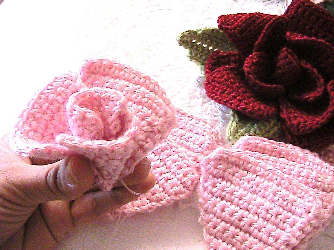 Beautifulcrochet beautiful crochet flower accessory hair bows beautifulcrochet beautiful crochet flower accessory izmirmasajfo