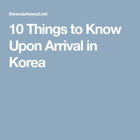 Arrival guides seoul forex