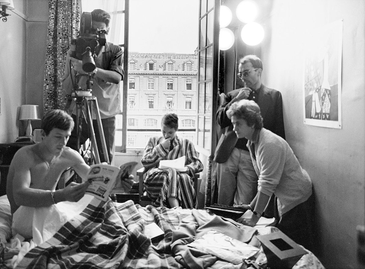 "Lindsay Film Review | Breathless (À Bout de Souffle): Jean-Luc Godard's New Wave Ode to Youth | Behind the scenes in ""Breathless,"" (1960) 