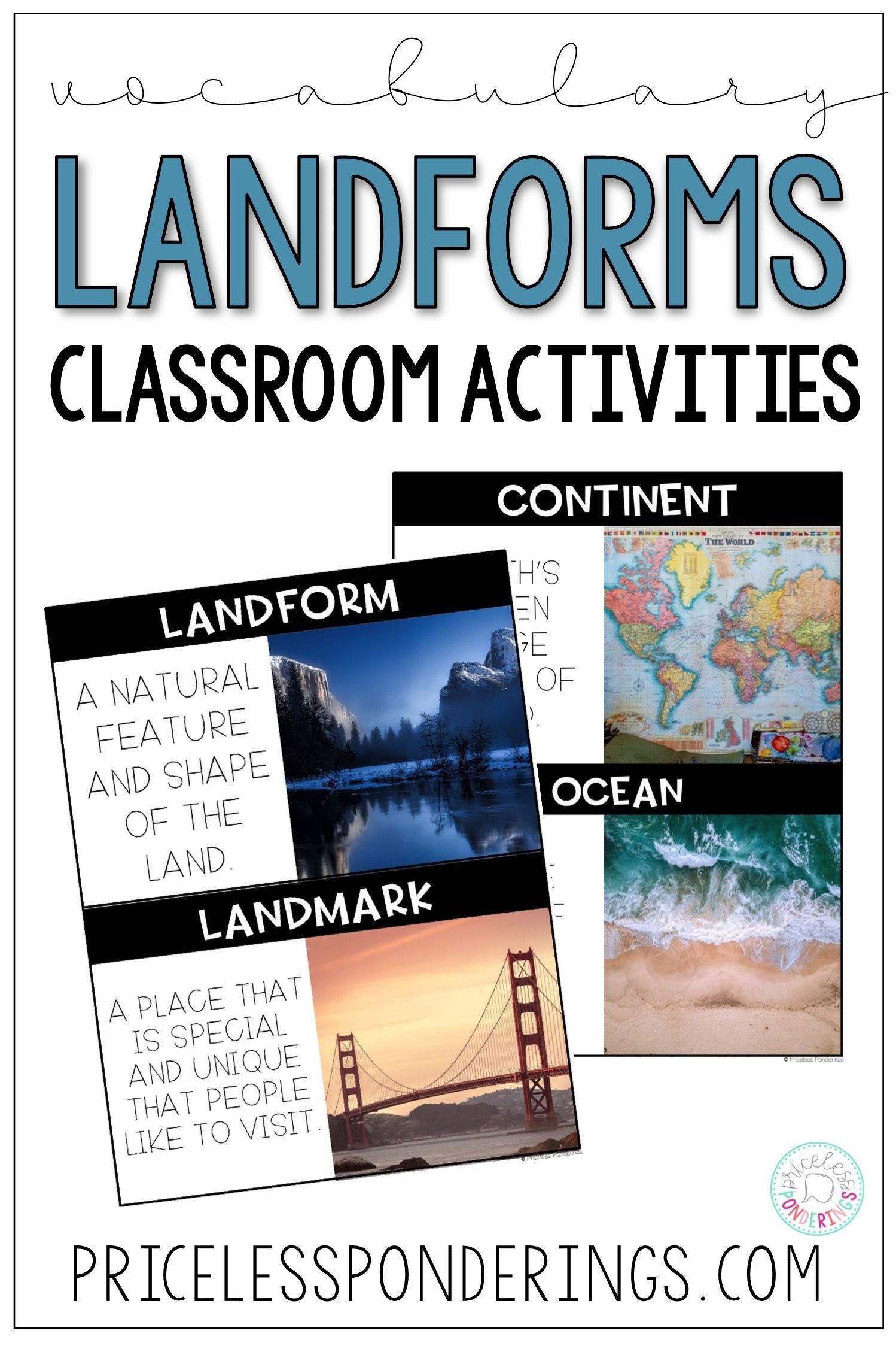 Landforms And Bo S Of Water Activities