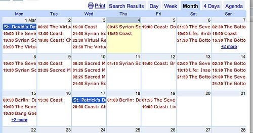 Updating Google Calendars from a Google Spreadsheet Ma Pinterest - spreadsheet