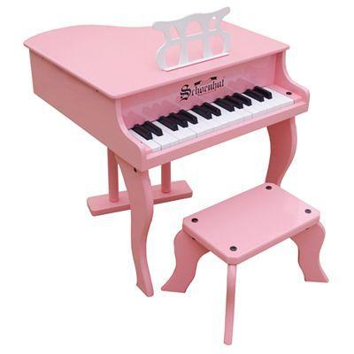 Schoenhut 30 Key Fancy Baby Grand Toy Piano Baby Grand