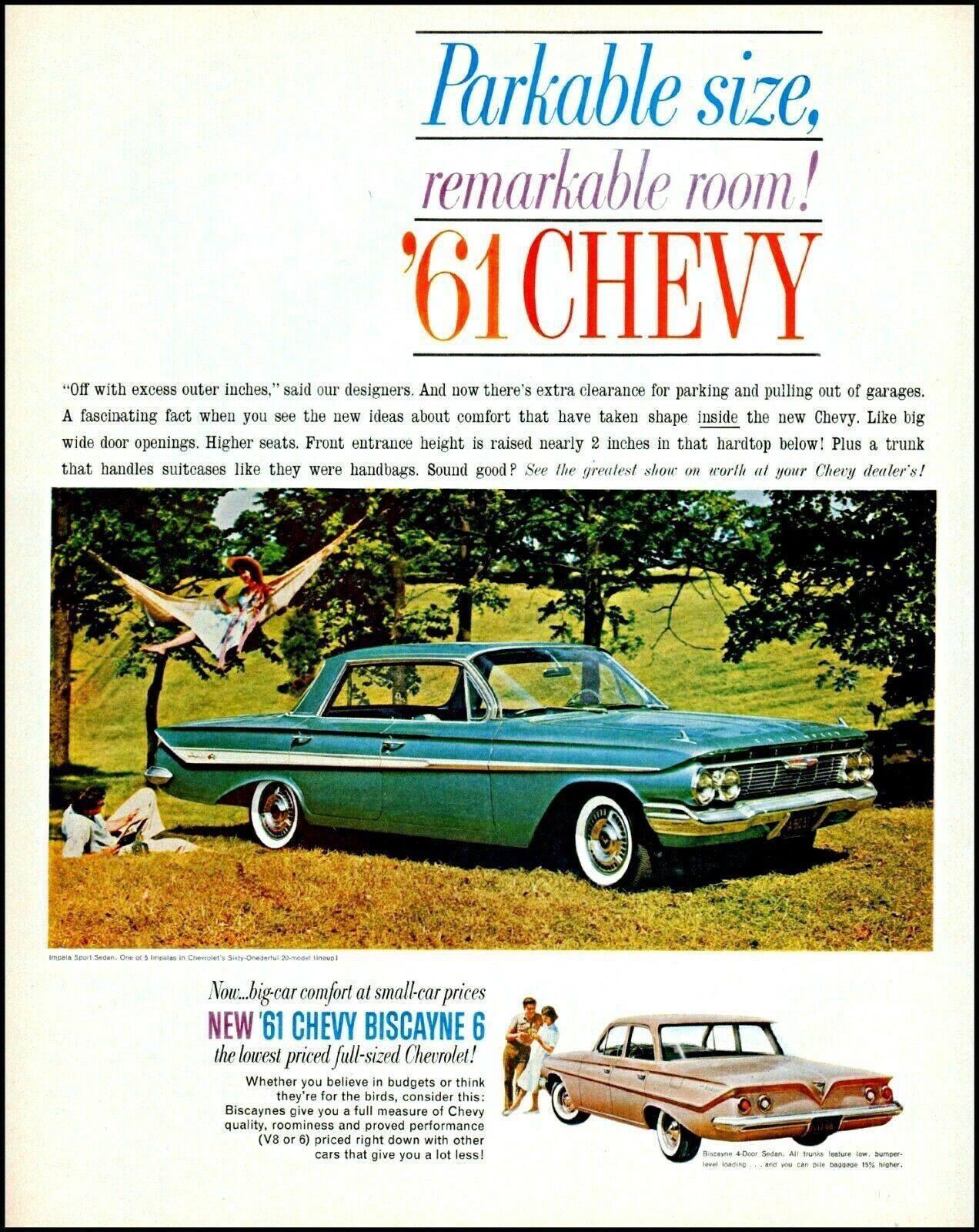 1965 Chevrolet Line Promotional Advertising Poster