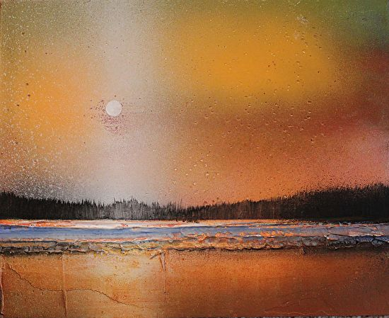 Golden Lake by Toni Grote  ~ 8 x 10