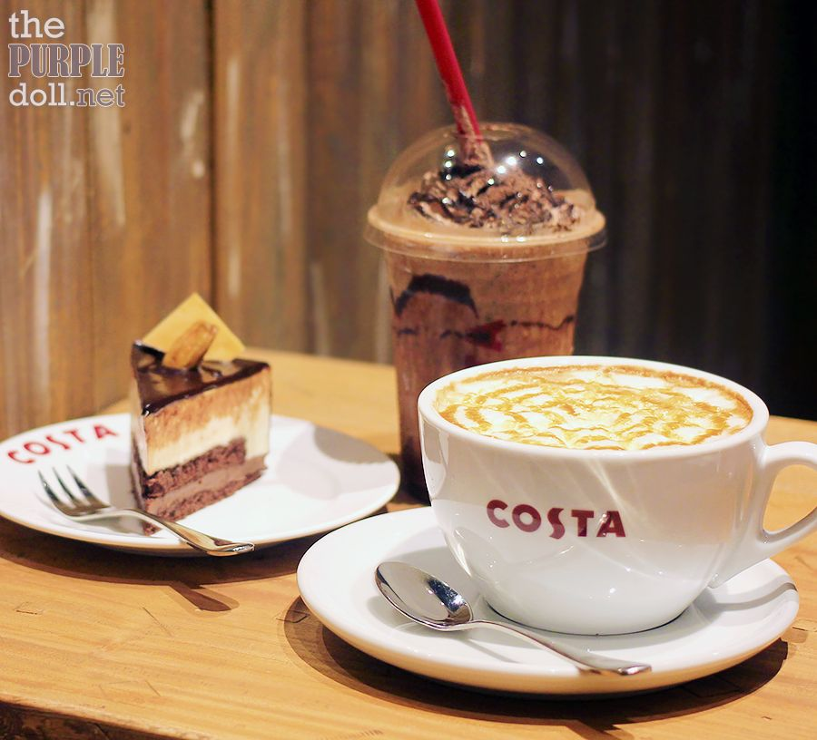 Costa Coffee Uk S 1 Coffee Chain Now In Manila Costa Coffee Coffee Food