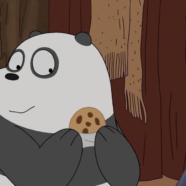 when someone sees you with food panda grizz food cookie