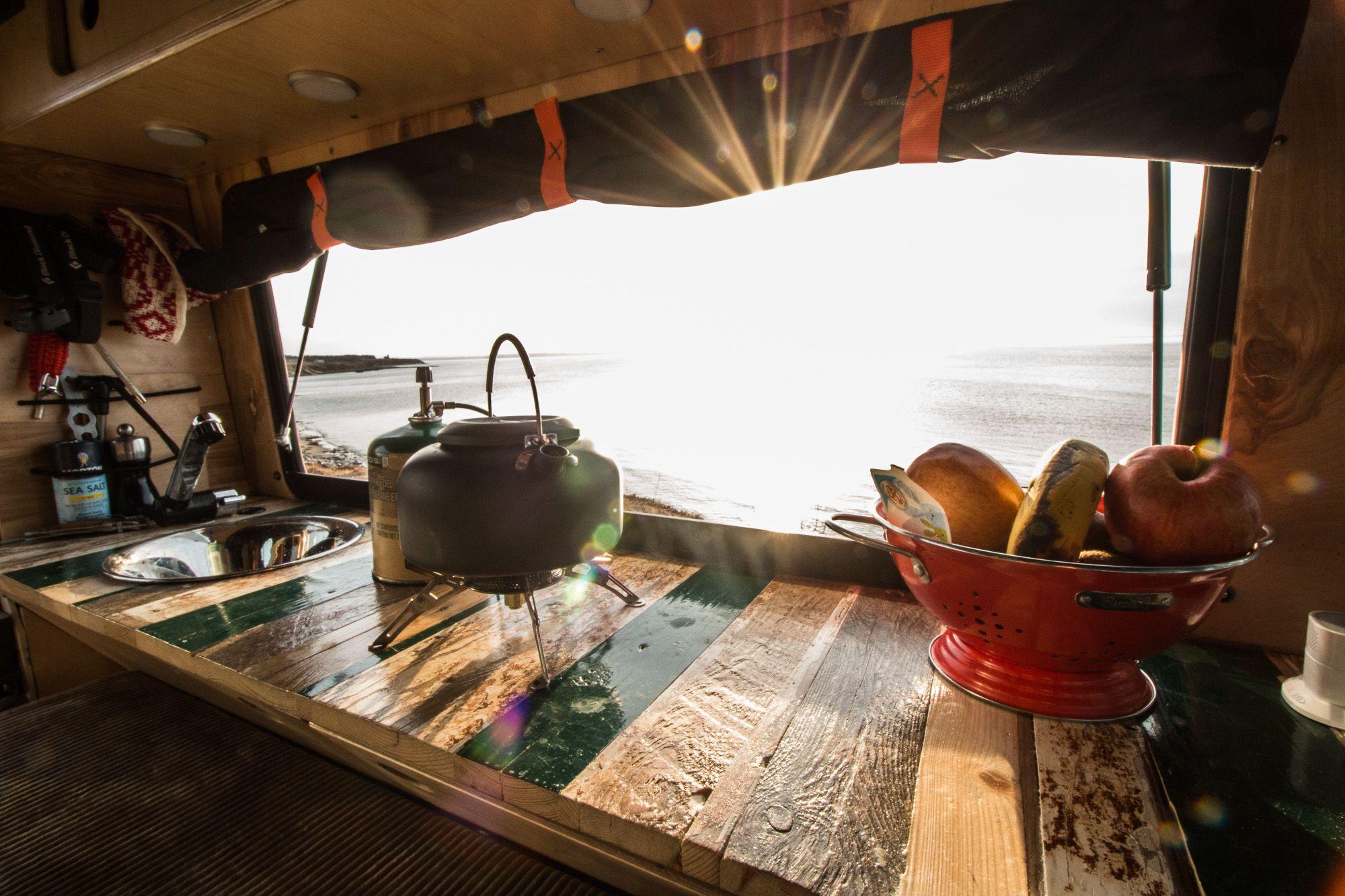 Wohnmobil küchenblock ~ Camper innenausbau küche interior camper ausbau defender 110