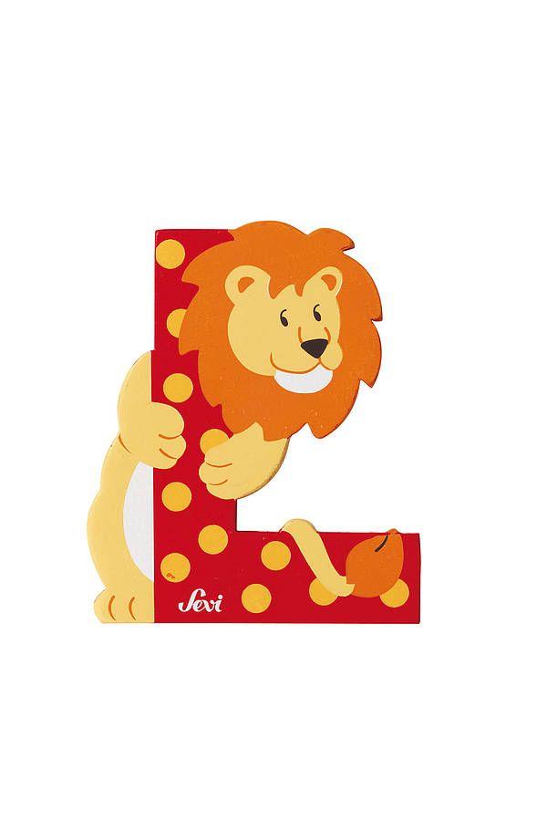 children's wooden decorative door letters | door letters, animal