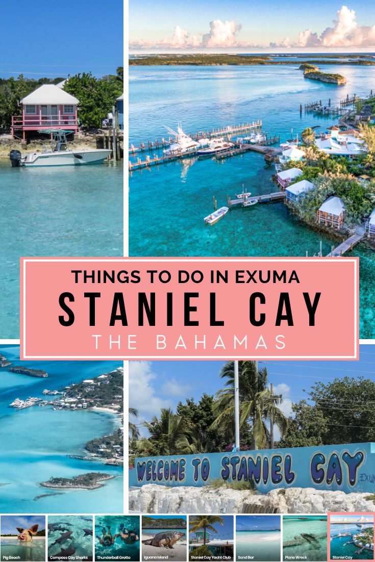 Staniel Cay (With images) Bahamas travel guide, Swimming