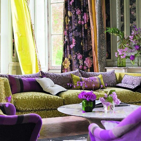 darly tissu designers guild d coration int rieure. Black Bedroom Furniture Sets. Home Design Ideas